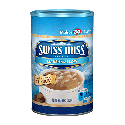 Swiss Miss Hot Chocolate Nutrition K Cup