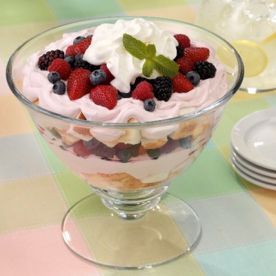 Berry Pudding Trifle